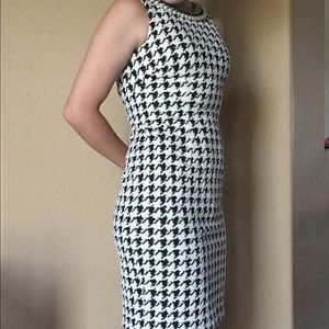 Gorgeous Eliza j houndstooth dress